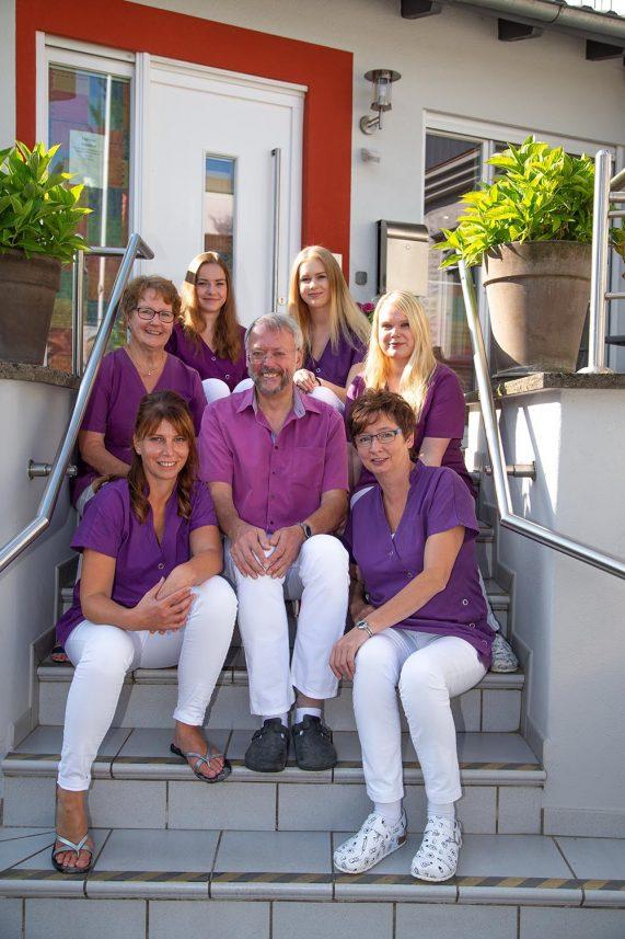 Das Team der Praxis Dr. med. H.-D. Reimann